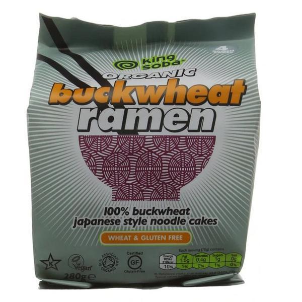 Buckwheat Ramen Noodles Gluten Free, wheat free, ORGANIC