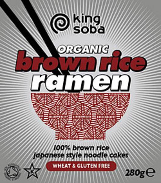 Brown Rice Ramen Noodles Gluten Free, wheat free, ORGANIC