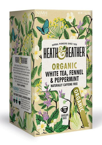 Fennel & Peppermint White T-Bags ORGANIC