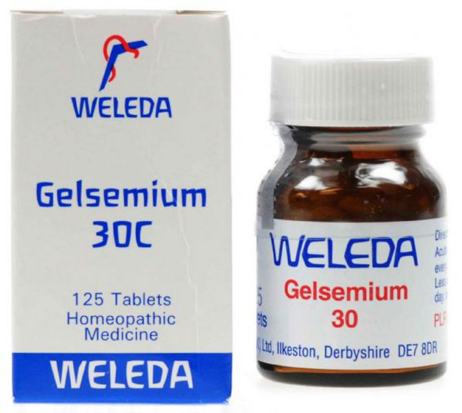 Gelsemium Homeopathic Remedy 30c