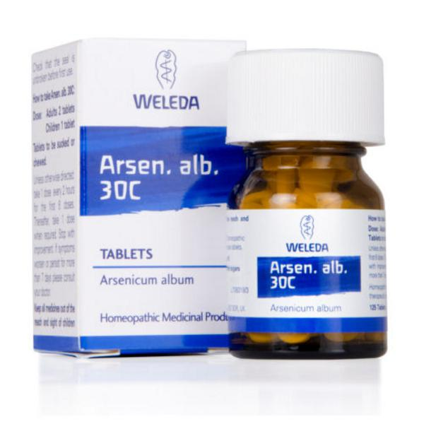 Arsen Alb Homeopathic Remedy 30c
