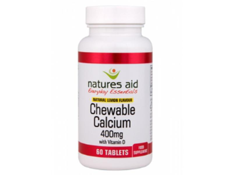 Calcium & Vitamin D Chewable 400mg