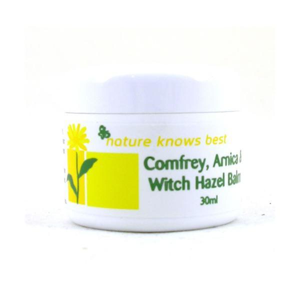 Comfrey,Arnica & Witch Hazel Balm