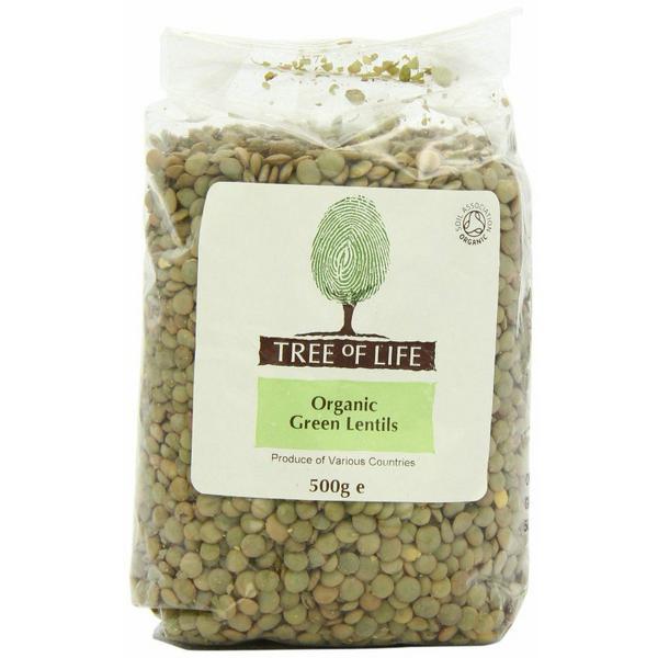 Green Lentils Tree of Life ORGANIC