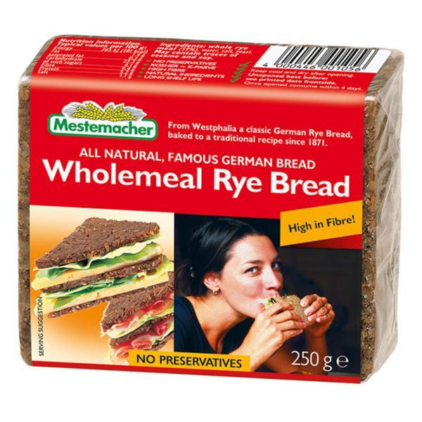 Is mestemacher bread gluten free