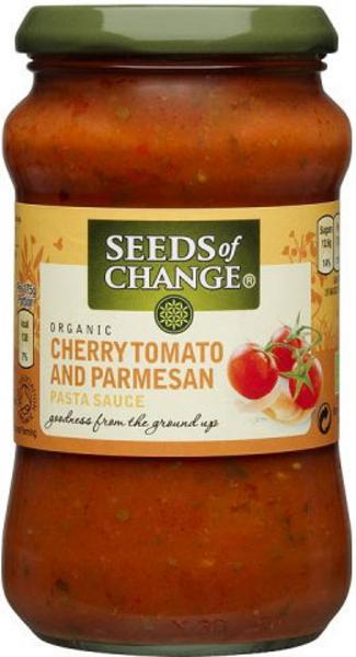Cherry Tomato,Basil & Parmesan Pasta Sauce ORGANIC