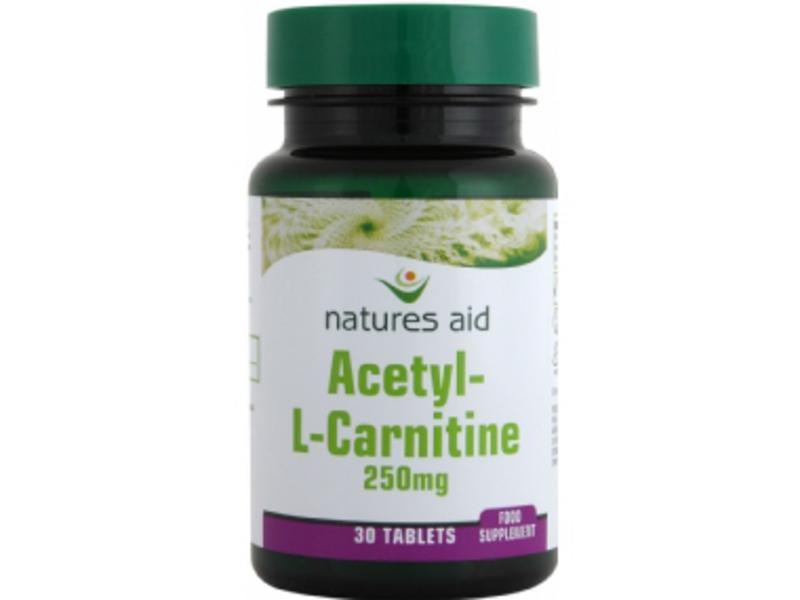 Acetyl-L-Carnitine Supplement 250mg