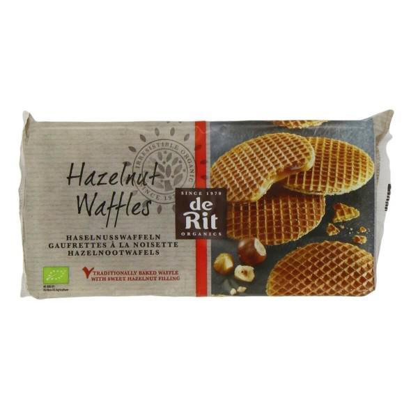 Hazelnut Waffles ORGANIC