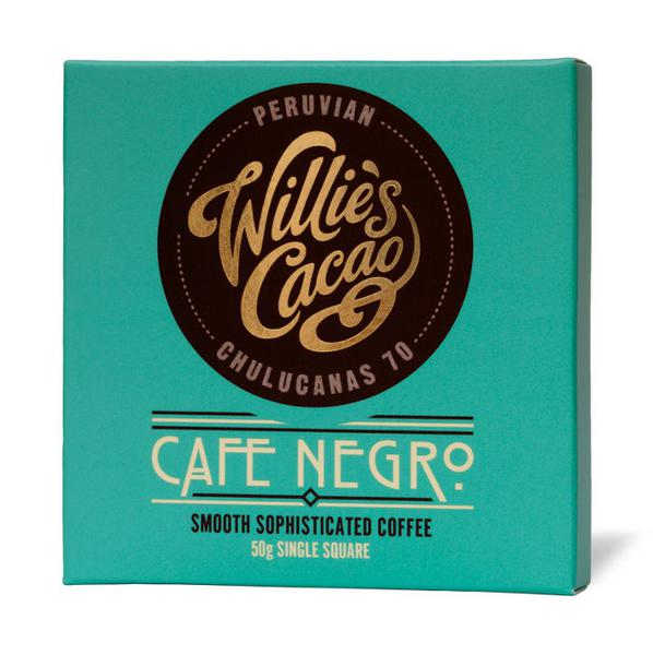 Cafe Negro Colombian Chocolate 70% Vegan