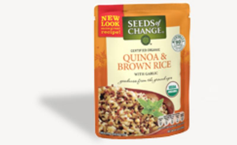Seeds of Change Organic Quinoa  amp  Brown Rice Ready-To-Heat 240gQuinoa Rice Costco