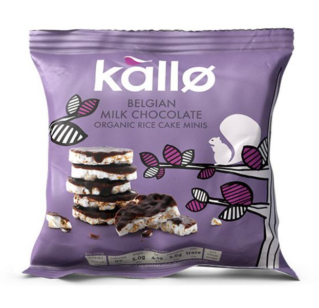 Belgian Milk Chocolate Rice Cakes Mini ORGANIC