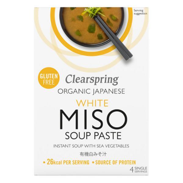 White Miso Instant Soup Paste Gluten Free, Vegan, ORGANIC