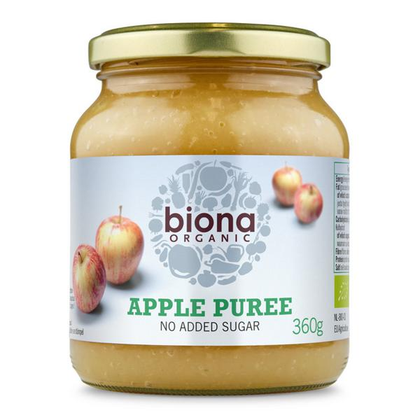 Apple Puree no added sugar, Demeter ORGANIC