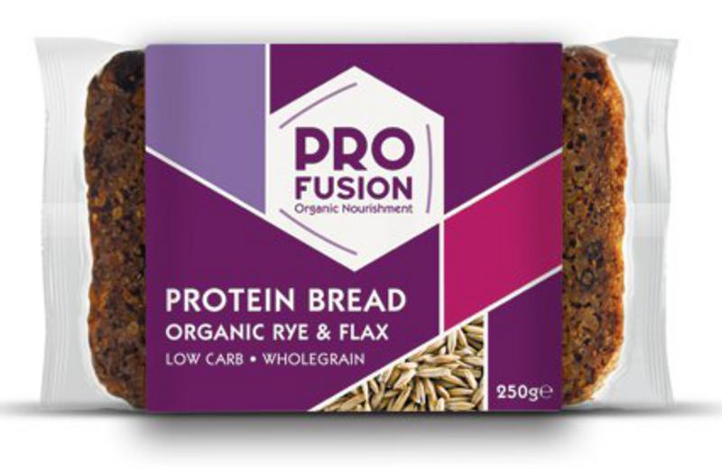 Organic Low Carb High Protein Bread in 250g from Profusion