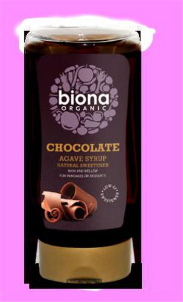 Chocolate Agave Nectar Squeezy ORGANIC