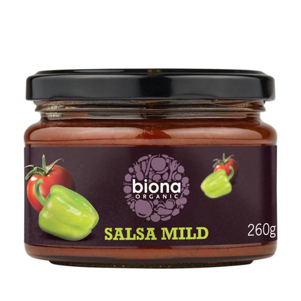 Mild Salsa dairy free, ORGANIC
