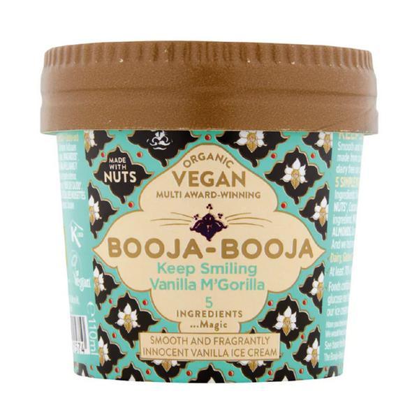 Keep Smiling Vanilla M'Gorilla Dairy Free Ice Cream Vegan, ORGANIC