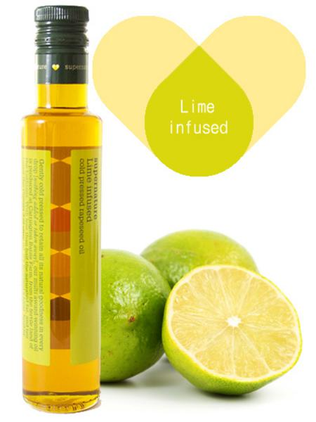 Lime Infused Rapeseed Oil Vegan