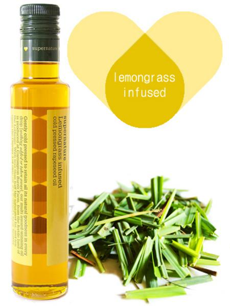 Lemongrass Infused Rapeseed Oil Vegan