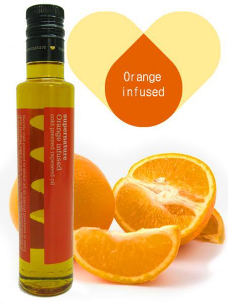 Orange Infused Rapeseed Oil Vegan