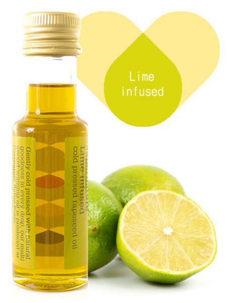 Lime Infused Rapeseed Oil Vegan