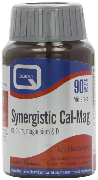 Balanced Cal-Mag Vitamin D Synergistic Gluten Free, yeast free