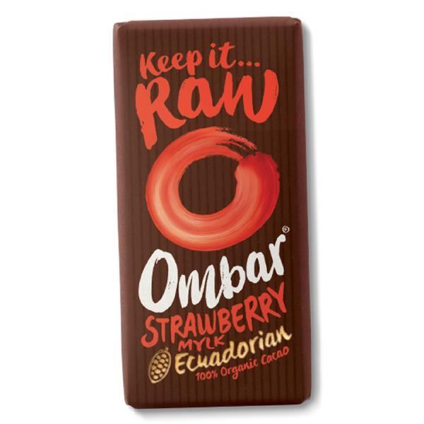 Strawberry Mylk Raw Chocolate ORGANIC