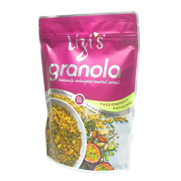 Passion Fruit & Pistachio Granola GMO free, Vegan, wheat free