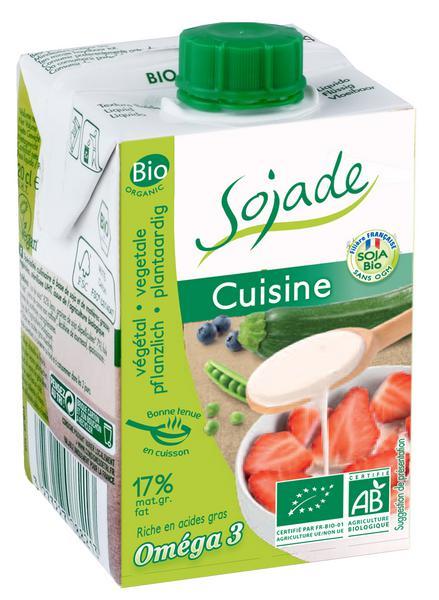 Soya Cream Cuisine dairy free, Gluten Free, GMO free, Vegan, ORGANIC