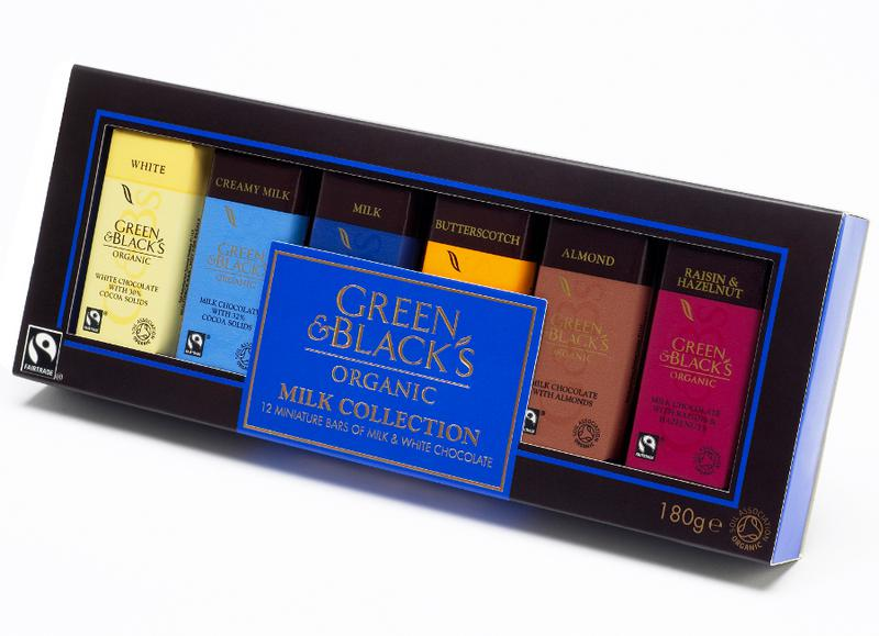 Miniatures Milk Chocolate Collection Gluten Free, FairTrade, ORGANIC