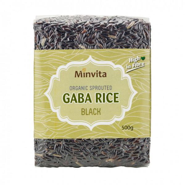 Black GABA Rice Germinated ORGANIC