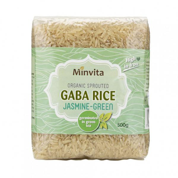 Jasmine GABA Rice Green Tea Germinated ORGANIC