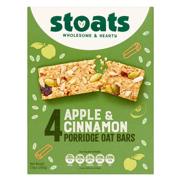 Apple & Cinnamon Porridge Oat Snackbar Multipack