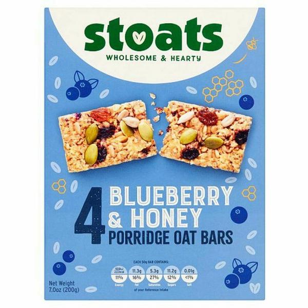 Blueberry & Honey Porridge Oat Snackbar Multipack