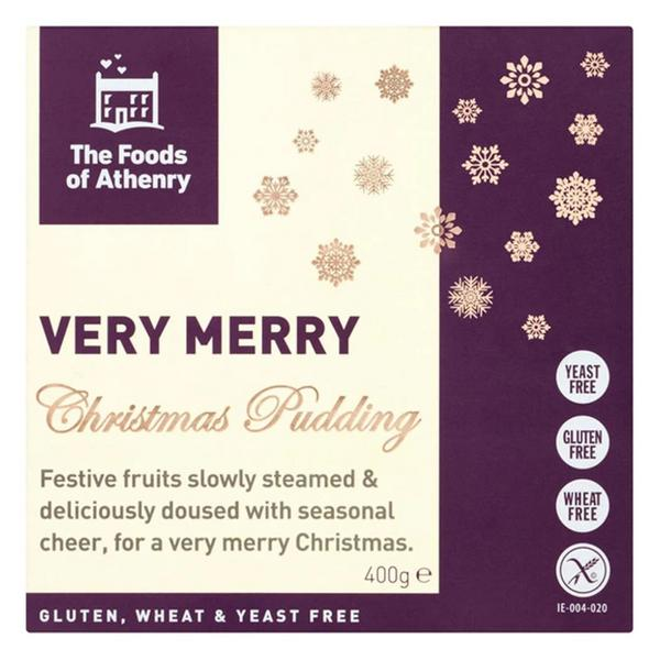 Christmas Pudding yeast free