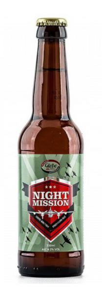 Beer 4.2% Night Mission Gluten Free, Vegan