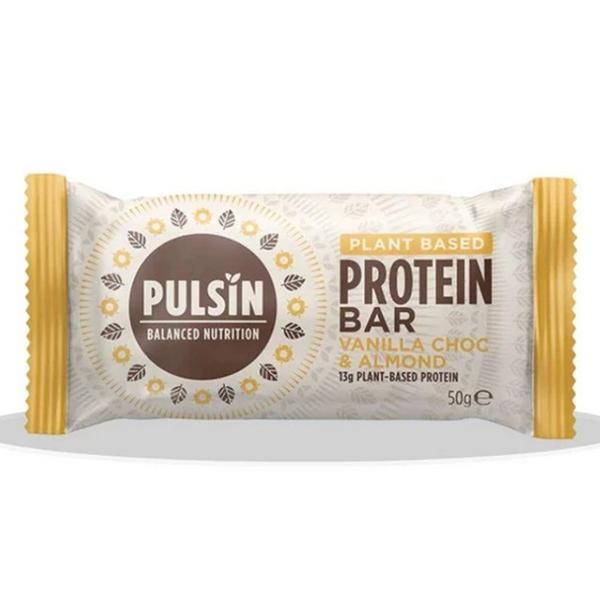 Vanilla,Chocolate & Almond Protein Bar Vegan, wheat free