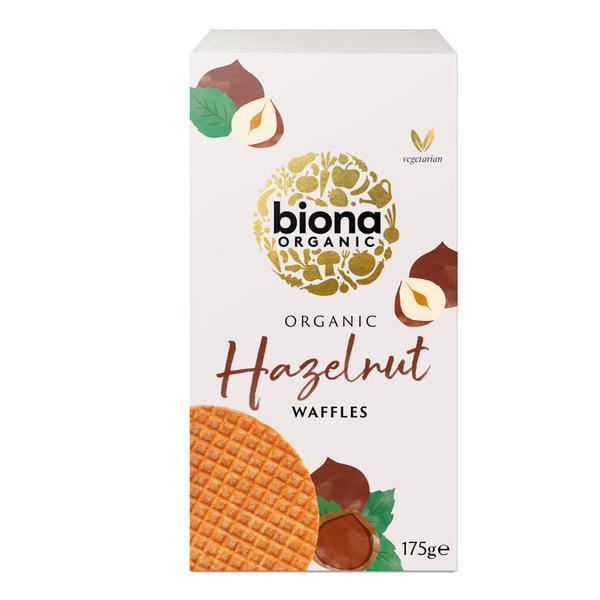 Hazelnut Waffles Vegan, ORGANIC