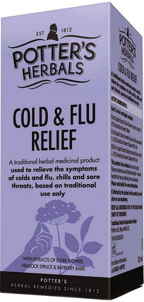 Cold & Flu Relief Herbal Remedy