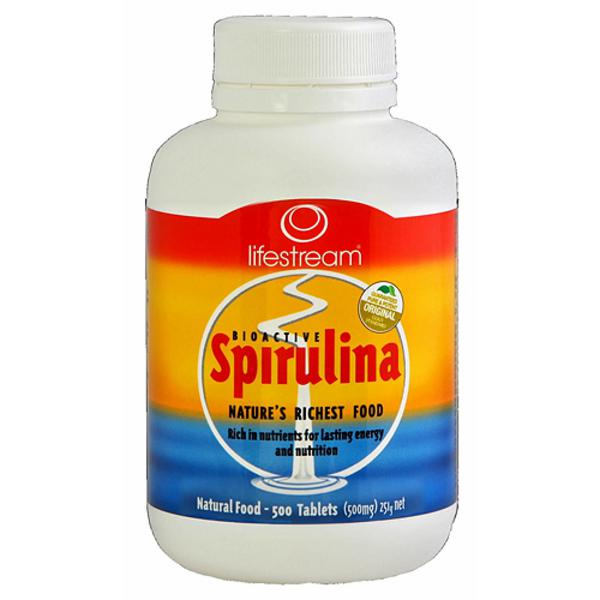 Spirulina Bioactive Tablets 500mg