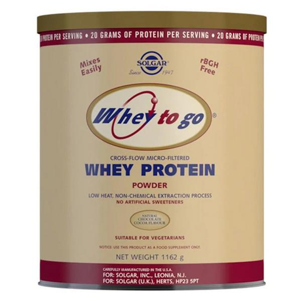 Whey To Go Chocolate Protein Supplements Powder