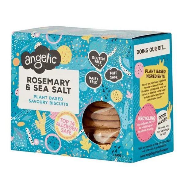 Rosemary & Sea Salt Biscuits Gluten Free