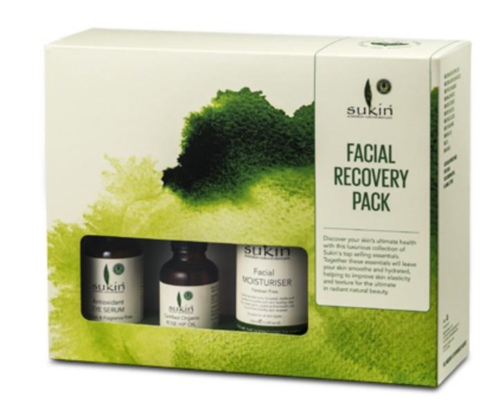Recovery Facial Treatment Gift Pack