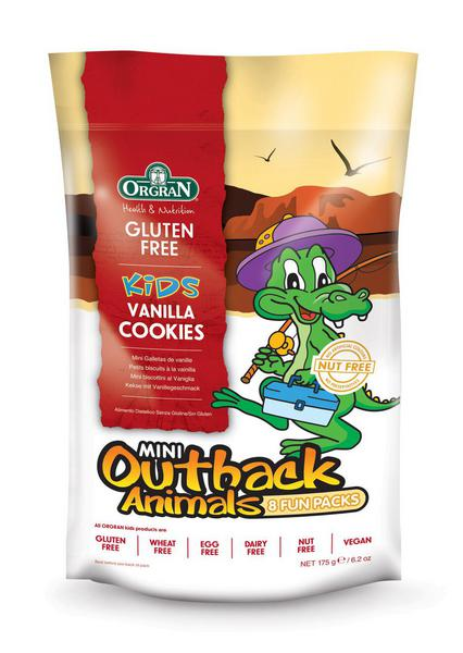 Mini Outback Animals Vanilla Cookies Multipack Gluten Free