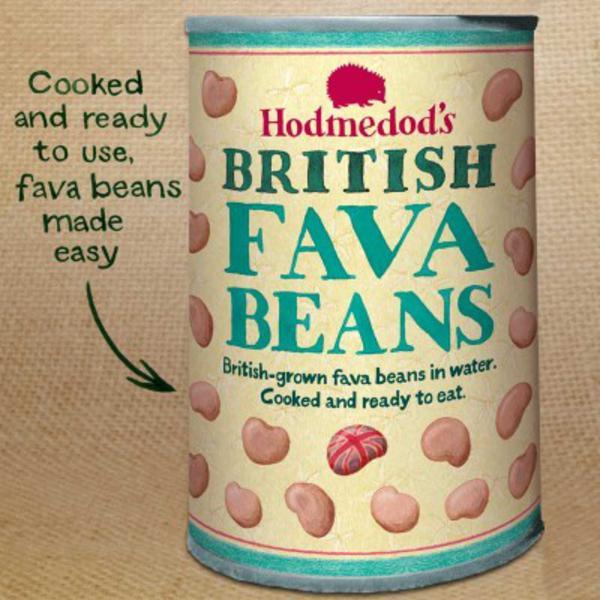 Fava Beans In Water Vegan