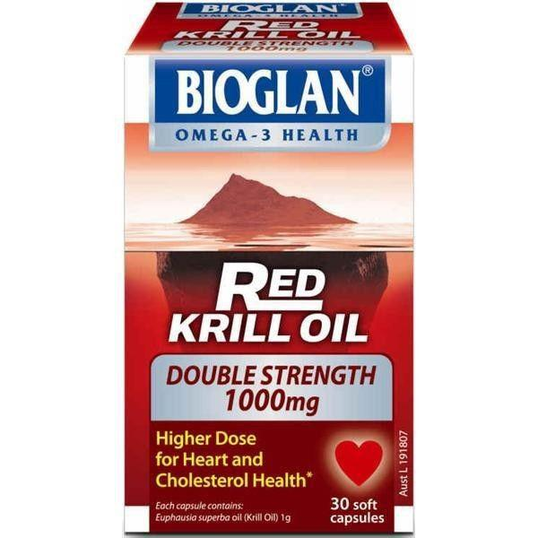 Double Strength Red Krill Oil