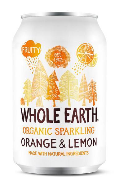 Sparkling Orange & Lemon Drink
