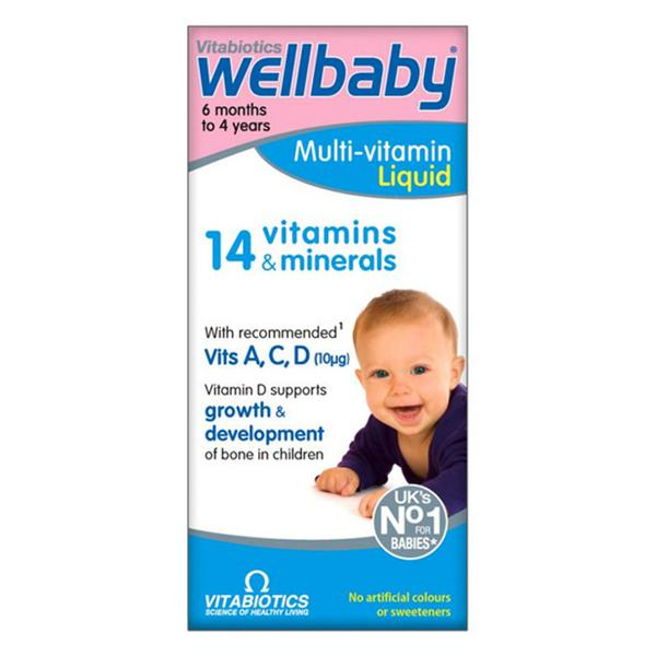 Wellbaby Baby & Infant Formula 6 months to 4 years