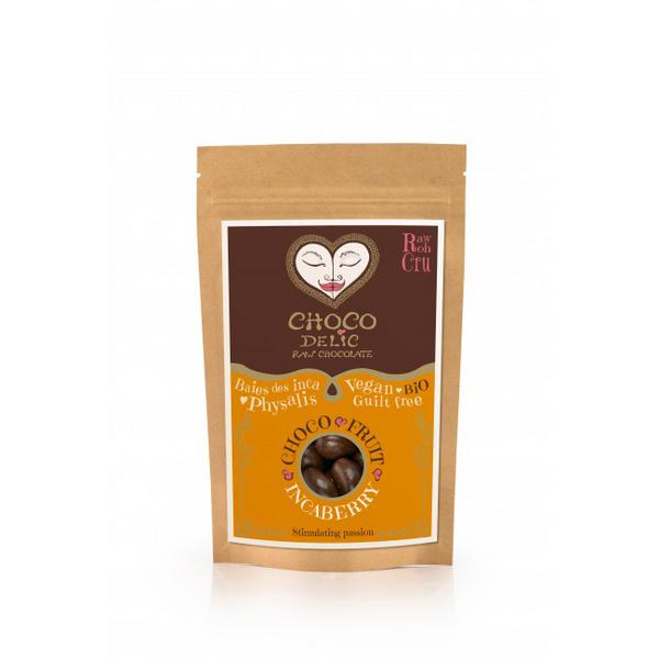 Raw Chocolate Coated Inca Berries Vegan, ORGANIC