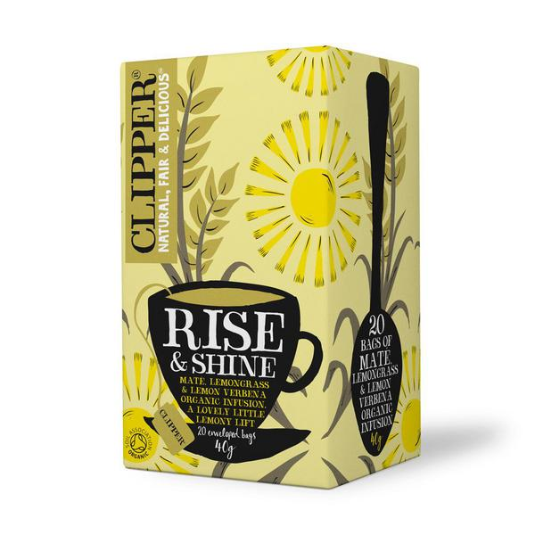 Rise And Shine Lemongrass & Lemon Verbena Tea ORGANIC
